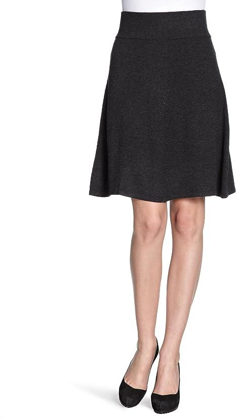 Eddie Bauer - Falda Mini para Mujer, Talla 34, Color Gris ...