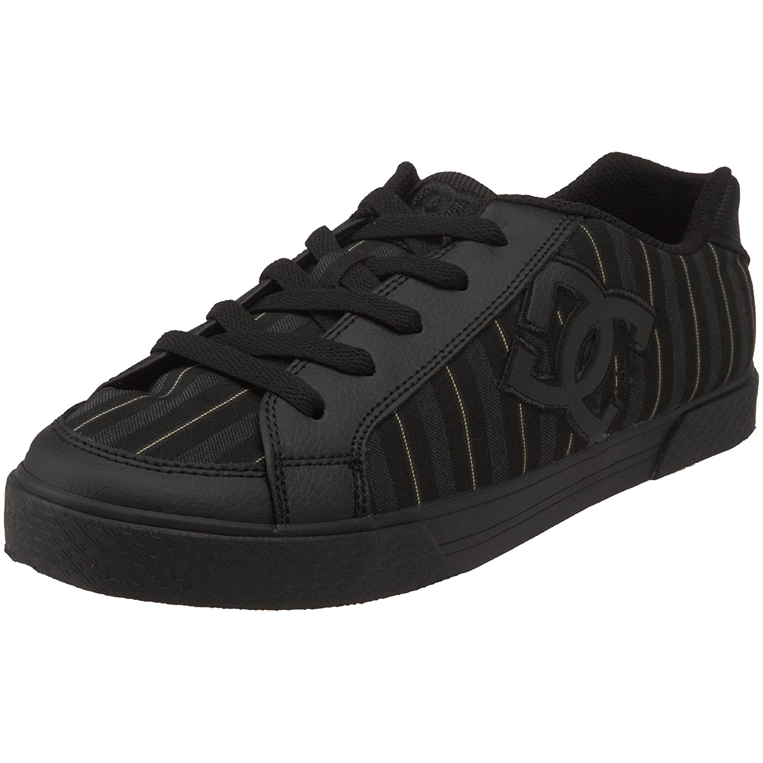 bc84671a5a3f DC Men s Empire TX Skate Shoe Black yellow 8 D(M) US  Buy Online at Low  Prices in India - Amazon.in