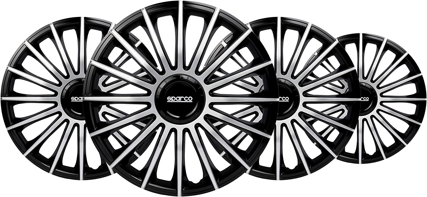 Sparco Set Wheel Covers Torino 13-inch Silver