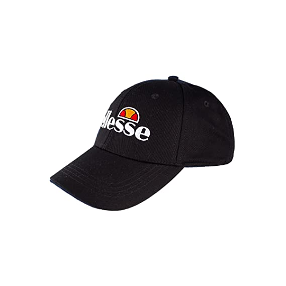 f3b79bd350606f ellesse Men Caps/Snapback Cap Volo Black Adjustable: Amazon.co.uk ...