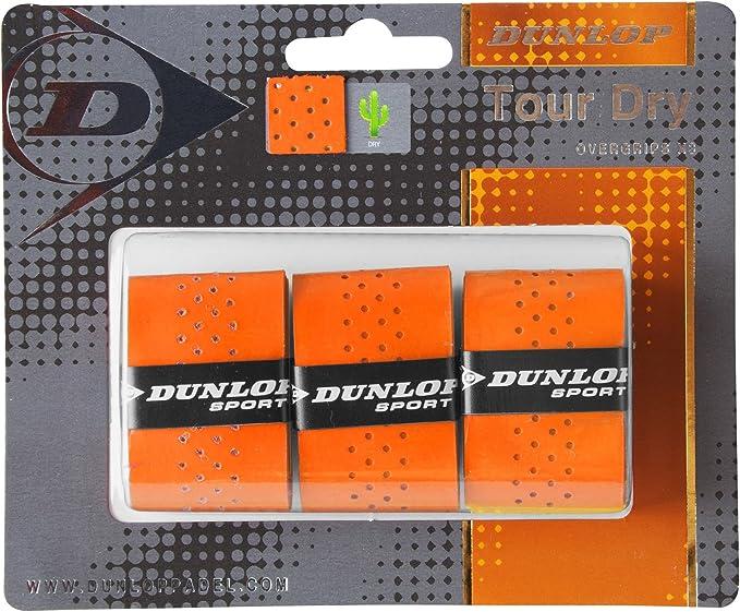 DUNLOP Tour Dry - Blister de 3 Unidades overgrip, Color Naranja ...