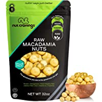 Raw Macadamia Nuts (32oz - 2 Pound) Packed Fresh in Resealable Bag - Trail Mix Snack - Healthy Protein Food, All Natural…