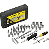 Stanley STMT727948 46-Piece 1/4 Drive Metric Socket Set