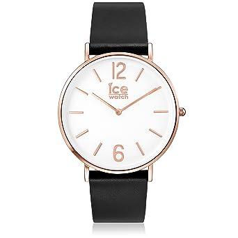 dd84703e4348d8 Ice-Watch - CITY tanner Black Rose-Gold - Montre noire mixte avec bracelet