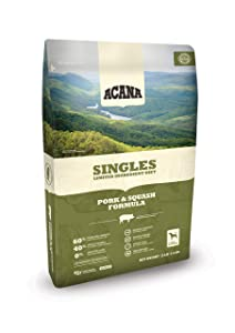ACANA Dry Dog Food with Pork and Squash Recipe