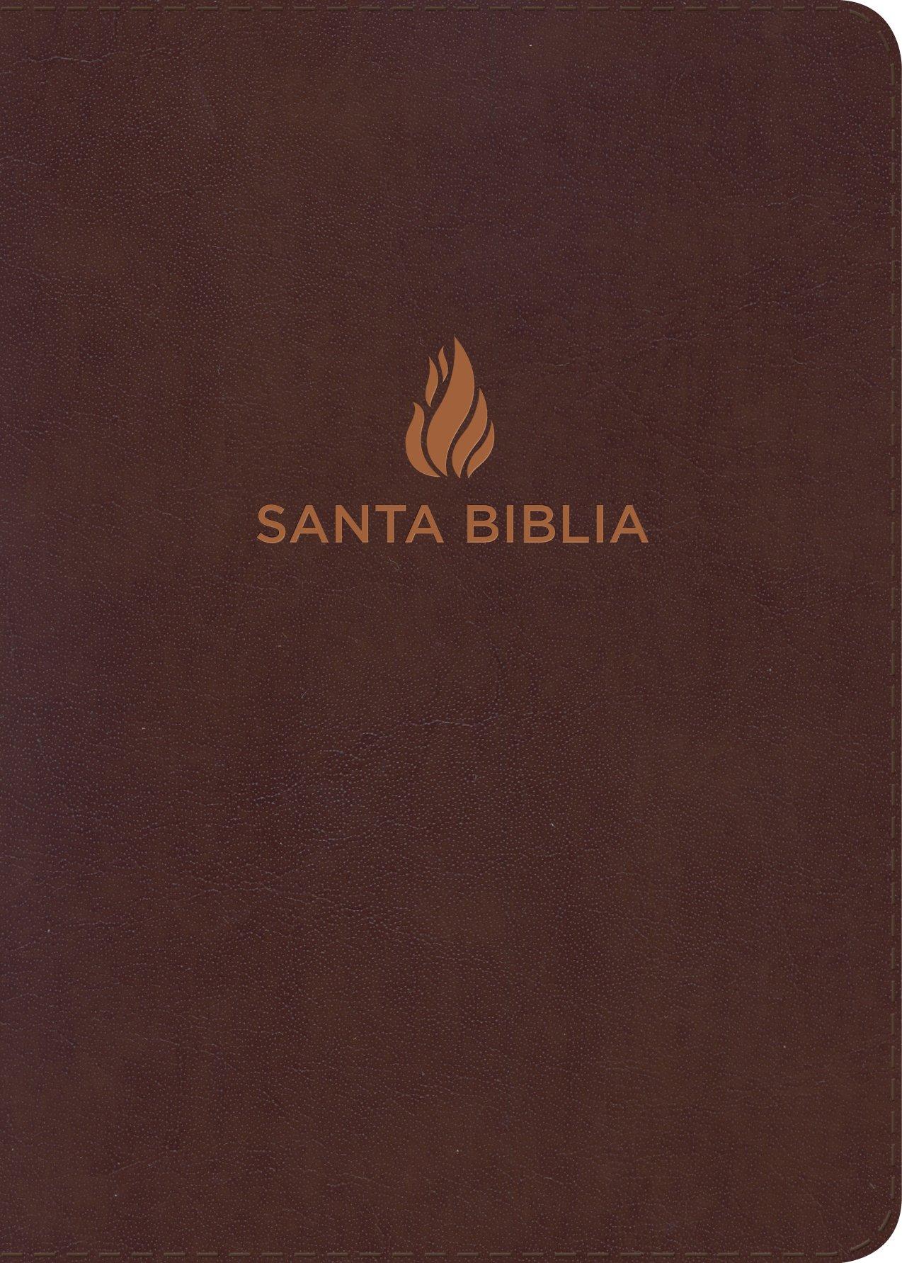 Read Online RVR 1960 Biblia Letra Grande Tamaño Manual marrón, piel fabricada (Spanish Edition) ebook
