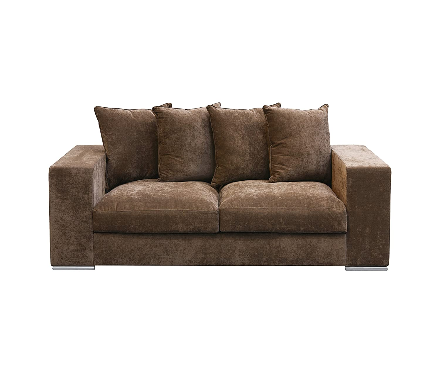 Samt sofa  Amaris Elements | Sofa 'George' 2-Sitzer, Samt aus Mikrofaser ...