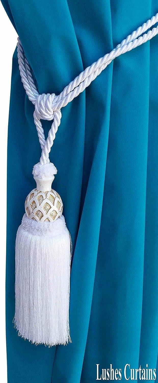 """Invidual Teal Blue 5 1//2/"""" Decorative Key Tassel"""