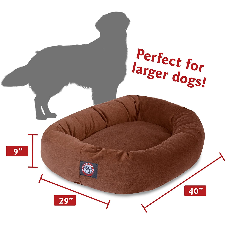 Amazon.com: Majestic Pet - Cama de gamuza para perros, 40 ...