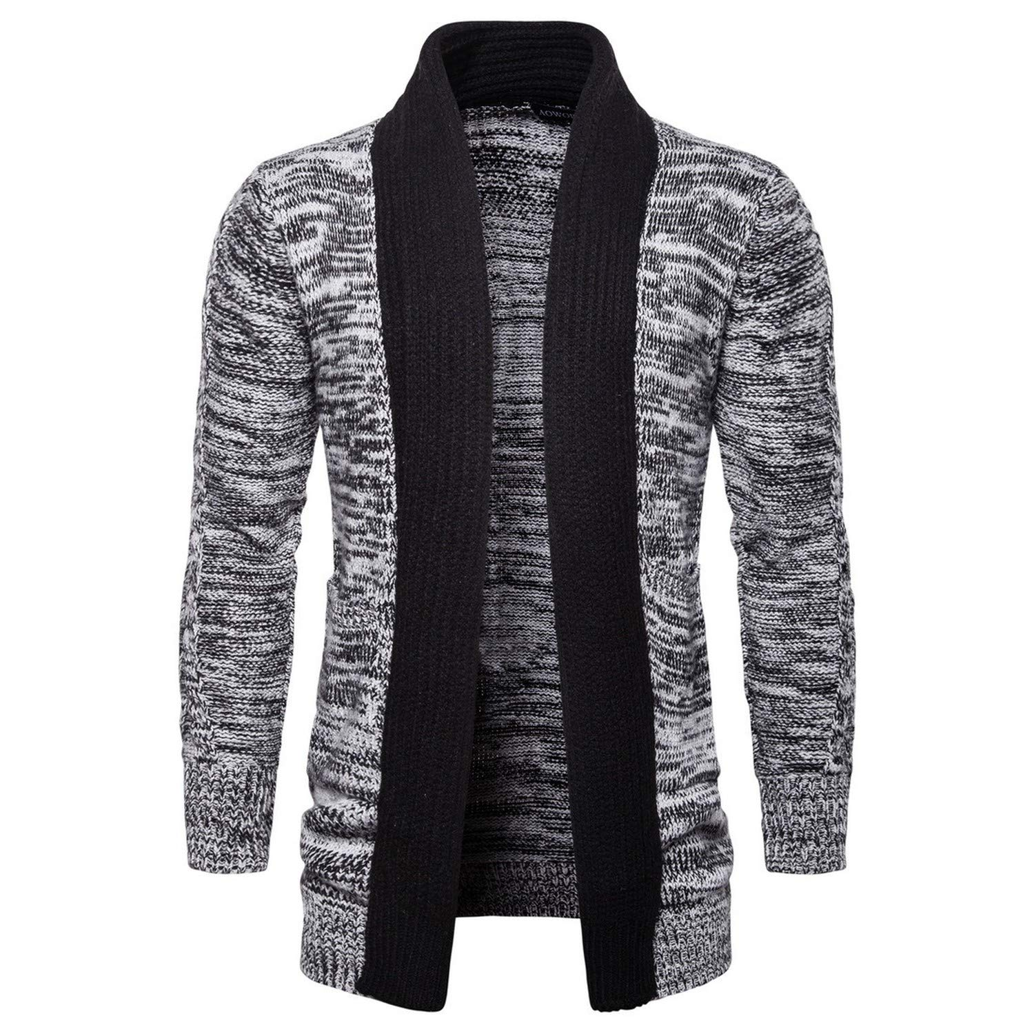 2018 Fashion Winter Long Knitted Sweater et Cardigan Christmas Men Sweaters