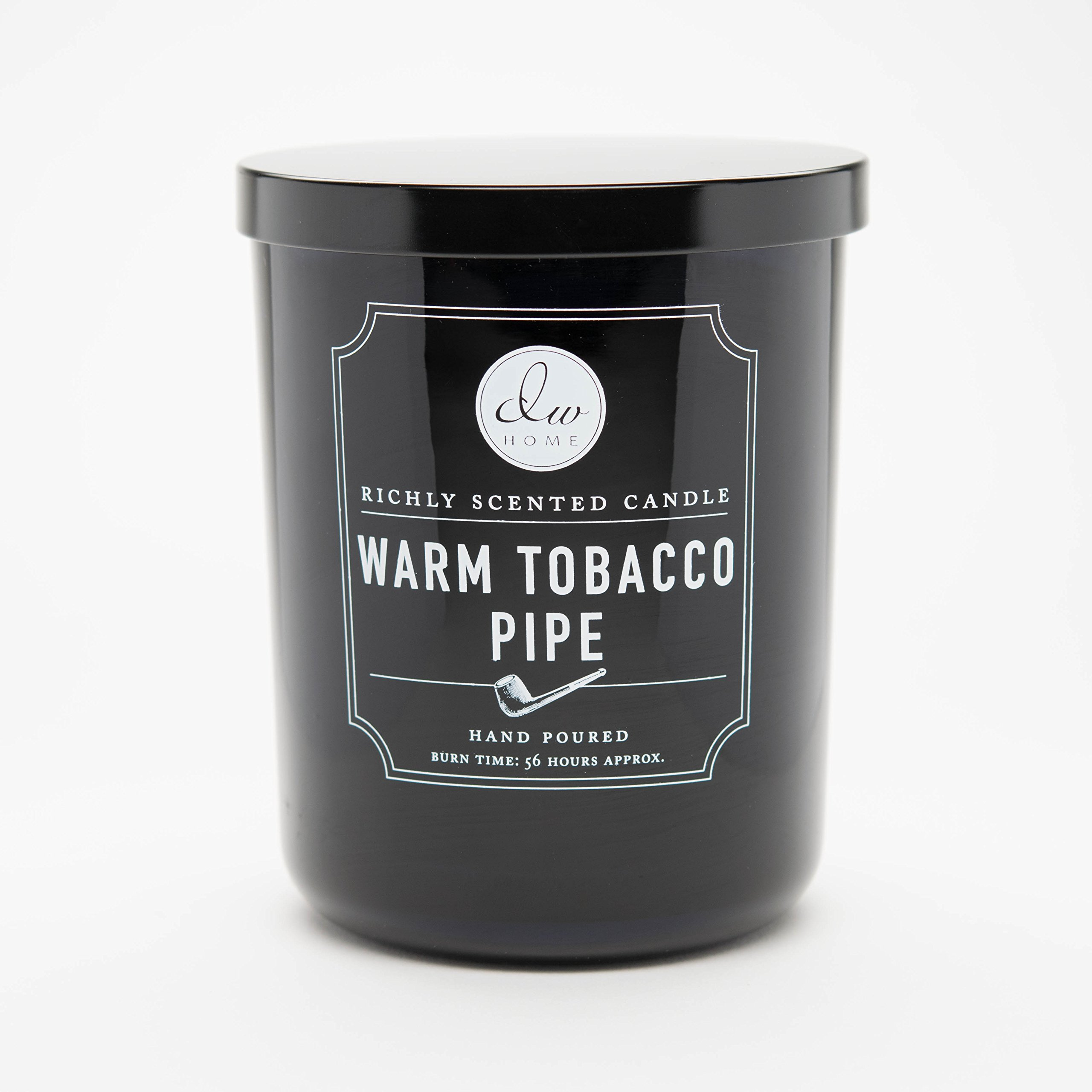 DW Home Large Double Wick Candle, Warm Tobacco Pipe by DW Home (Image #1)