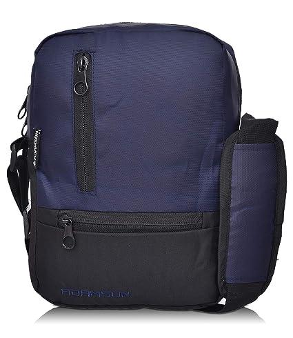 Adamson Blue Mens Polyster slingbag (ASB-027)