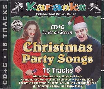 Christmas Karaoke Cd.Christmas Party Songs G Uk