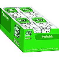 Tic Tac Fresh Breath Mints, Freshmint,Bulk Hard Candy Mints, 1 oz Singles, 12 Count
