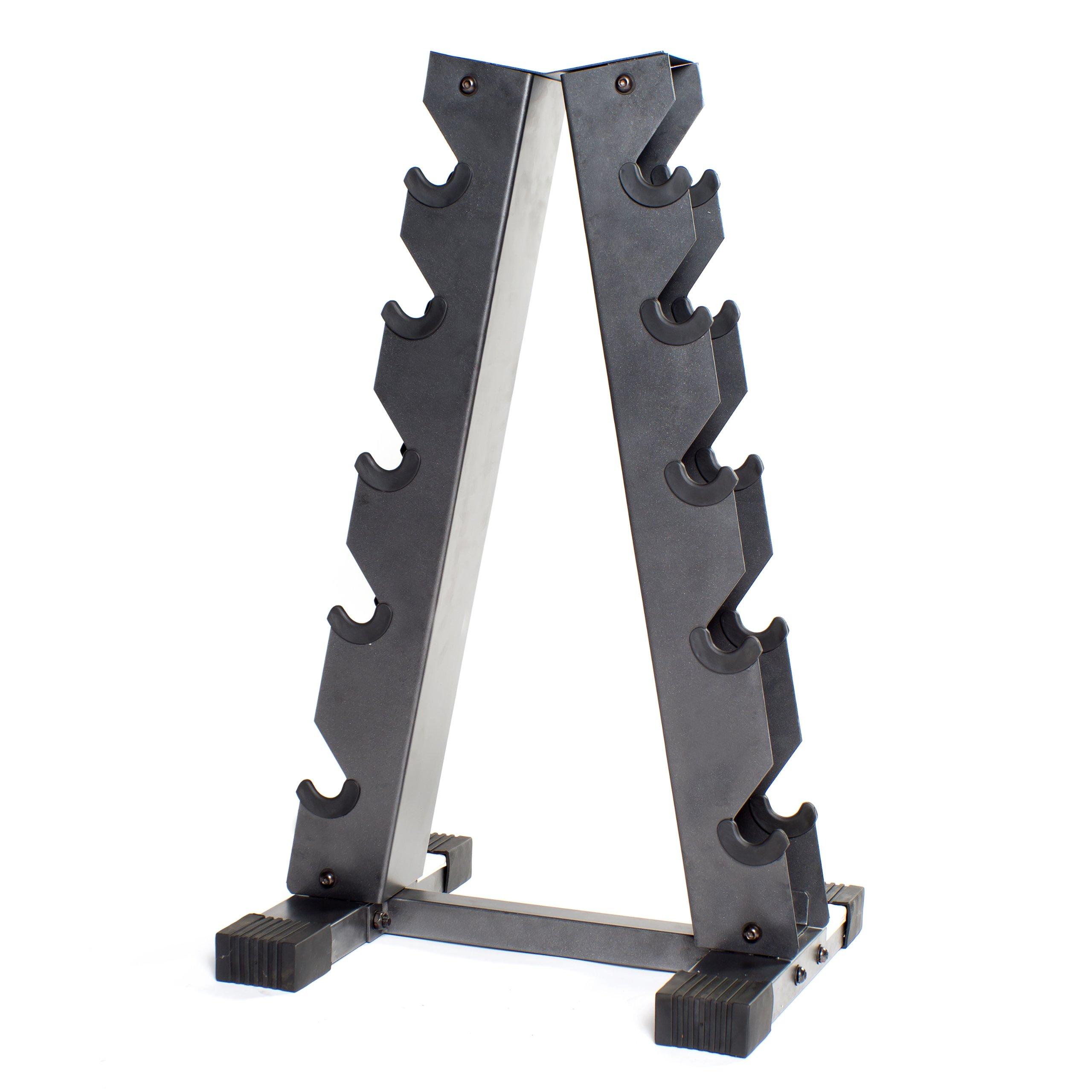 CAP Barbell A-Frame Dumbbell Rack, Gray by CAP Barbell