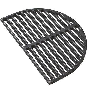 cast iron grid big green egg xl grate dishwasher for medium half moon searing oval