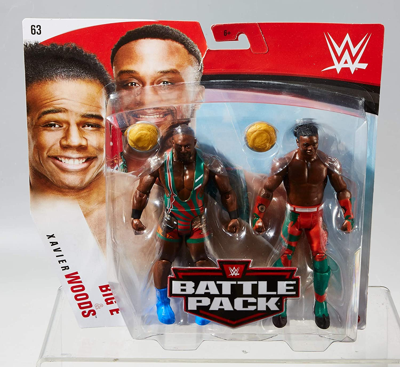 Xavier Woods Battle Packs 63 Basic Figures WWE Mattel New Day Big E