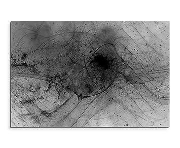 Abstrait 1098 120 X 80 Cm Noir Blanc Photos Impression D