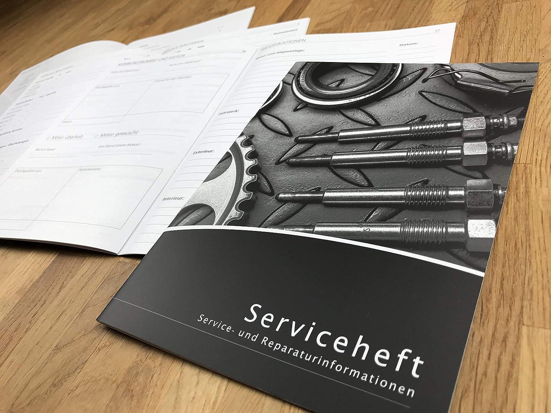 Lobsinger Universal Serviceheft Scheckheft FÜr Alle Kfz Hersteller Geeignet Neues Blanko Wartungsheft Im Motor Design Auto