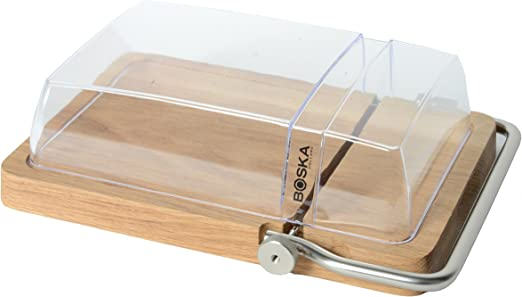 Amazon Com Boska Holland Petit Paris Cheese Cutting Board And Dome Cheese Servers