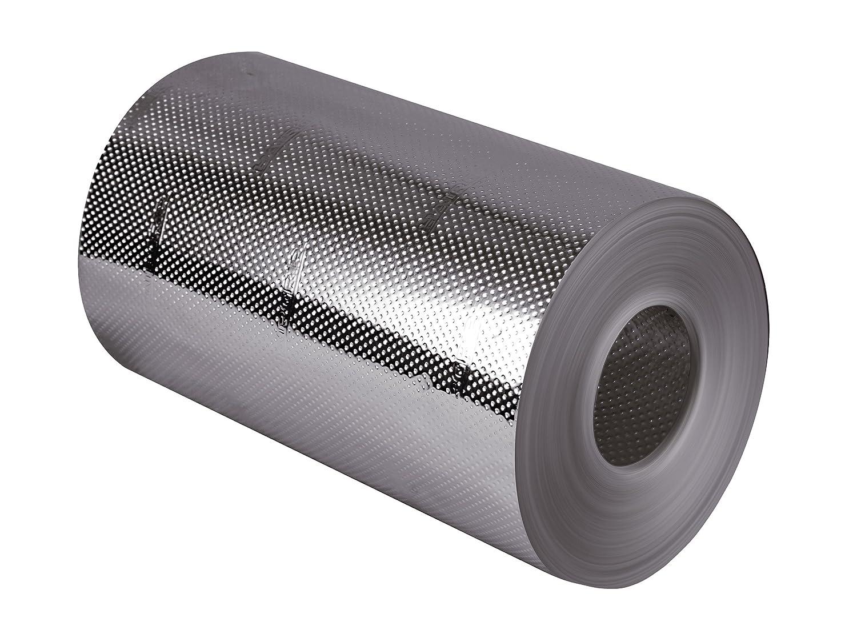 HairGrip PRO - 13cm - Feuille d'aluminium pour mèches - première mèche antidérapante 13cm de large, résistant à la déchirure, 1 pièce HI-tools Professional 0106