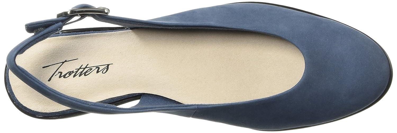 Trotters Women's Alice Ballet Flat B073BYYL55 5.5 B(M) US|Blue