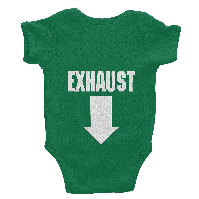 37efdd051 Amazon.com: ShirtInvaders Intake Exhaust - Funny Infant Baby Gift - Onesie  T-Shirt: Clothing