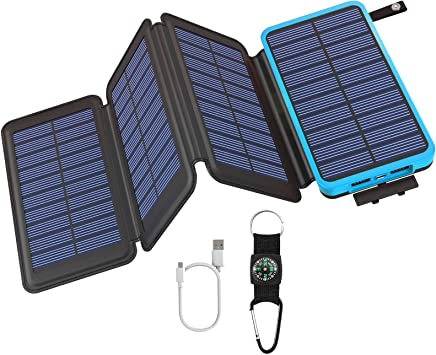 Goodaaa Solar Powerbank 25000mah Solar Power Bank Elektronik
