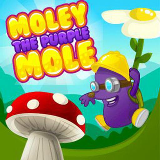 Moley the Purple Mole - Purple Mole