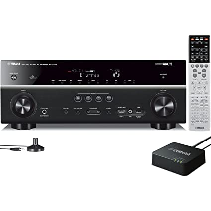 Yamaha RX-V773WA 7 2- Channel Network AV Receiver (Discontinued by  Manufacturer)