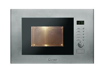 Candy MIC20GDFX - Microondas de encastre con grill, 20 L, 800 W / 1000
