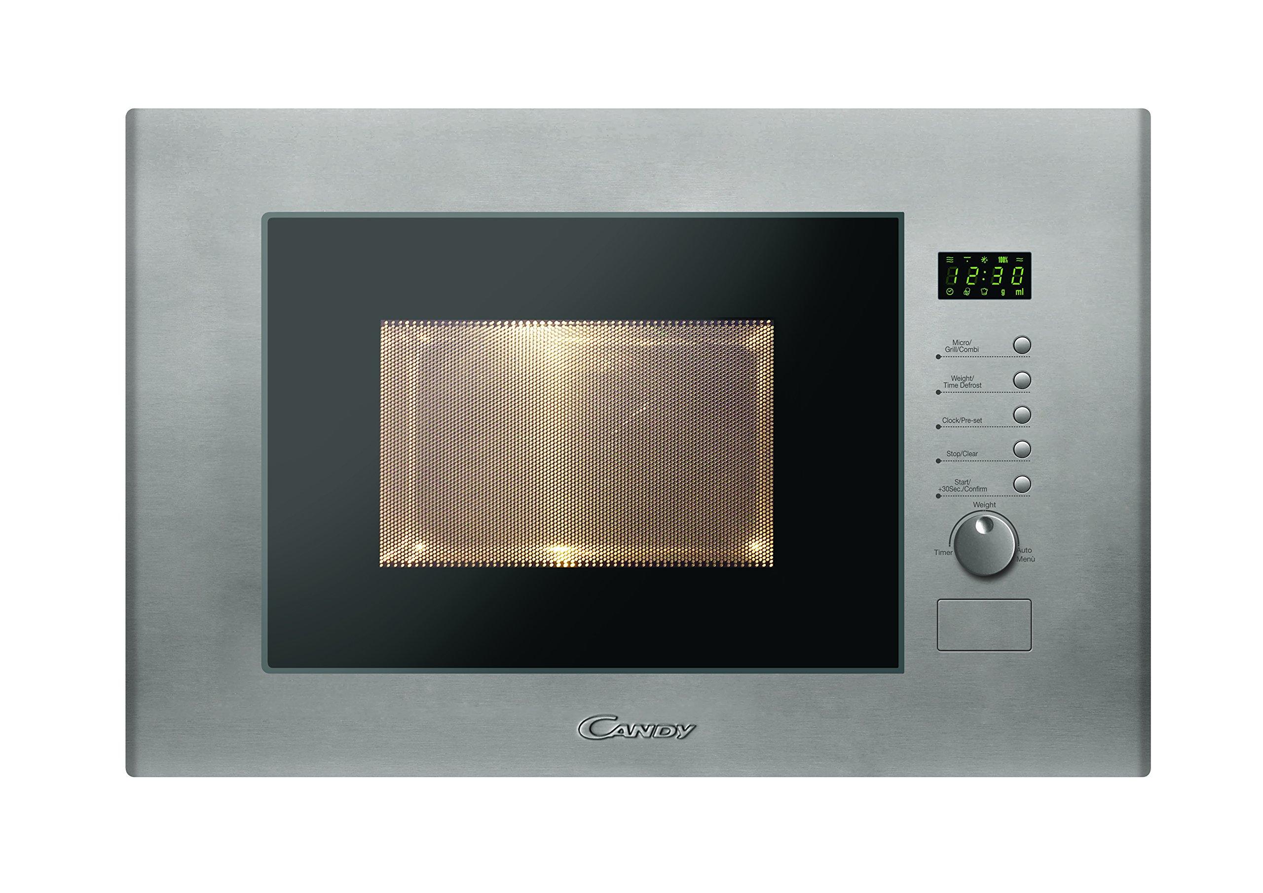 Candy MIC20GDFX - Microondas de encastre con grill, 20 L, 800 W / 1000 W, color gris product image