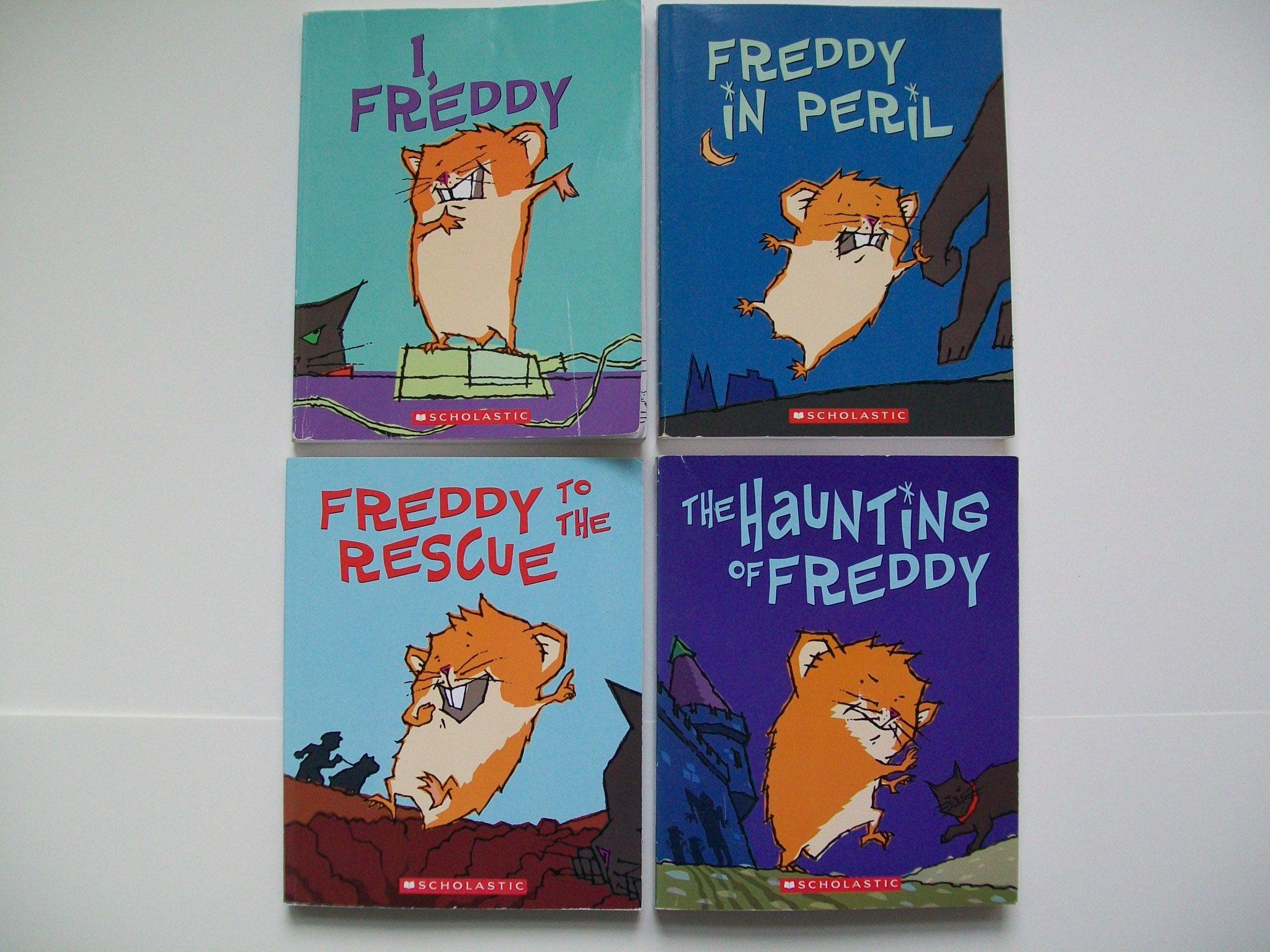 Golden Hamster Saga (Set of 4) I, Freddy; Freddy in Peril; Freddy to the  Rescue; Haunting of Freddy: Dietlof Reiche, John Brownjohn: Amazon.com:  Books