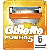 Gillette Fusion5 scheermesjes voor heren, per stuk verpakt (1 x 5 stuks)