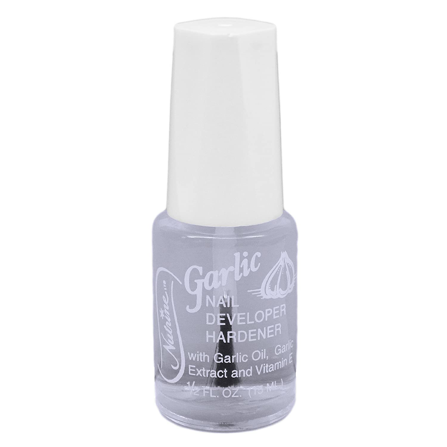 Amazon.com : Nutrine Garlic Nail Developer Hardener 1/2oz : Nail ...