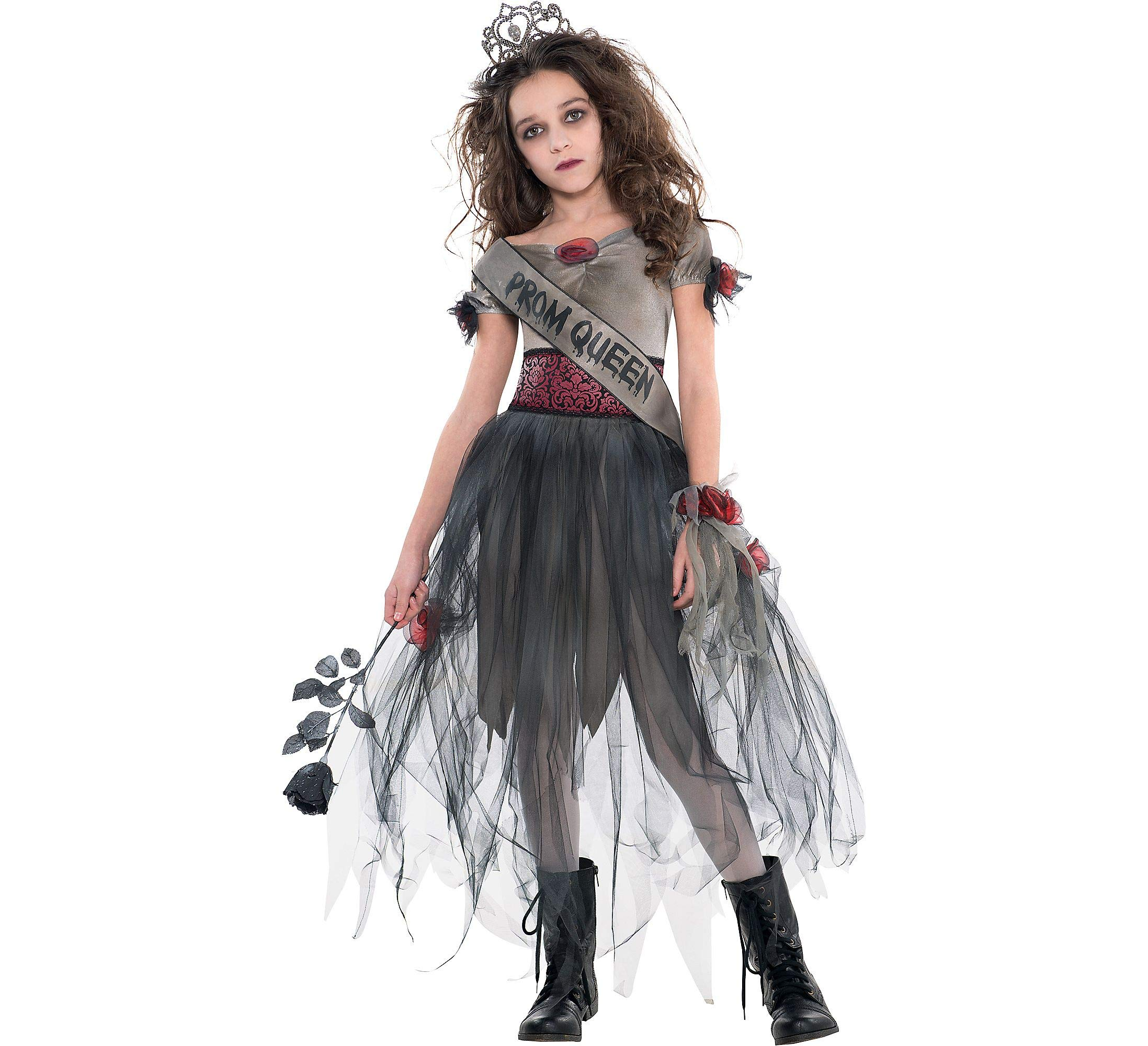 AMSCAN Prom Corpse Costume Halloween Costume for Girls, Medium, with Included Accessories