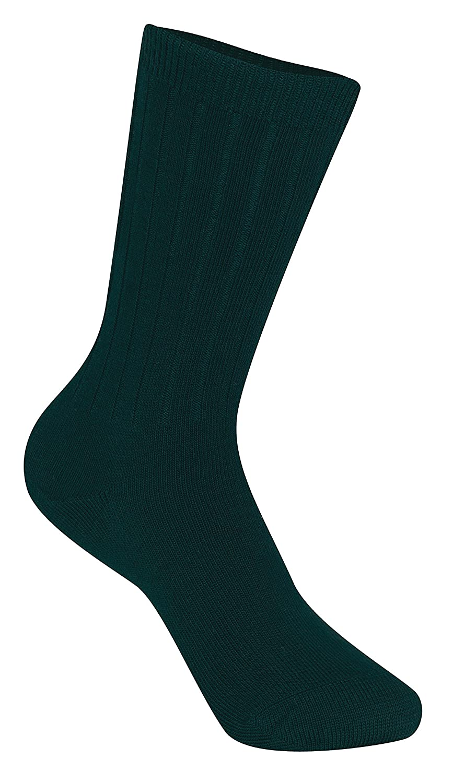 CLASSROOM Big Boys' Uniform Rib Crew Socks 3 Pack 5HM001