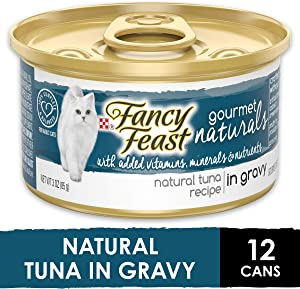 Purina Fancy Feast Gravy Wet Cat Food, Gravy Lovers Salmon Feast in Seared Salmon Flavor Gravy - (24) 3 oz. Cans