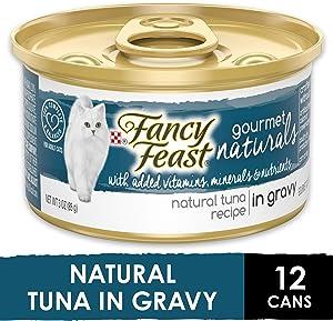 Purina Fancy Feast Gravy Wet Cat Food, Gravy Lovers Salmon Feast in Seared Salmon Flavor Gravy - (24) 3 oz. Cans
