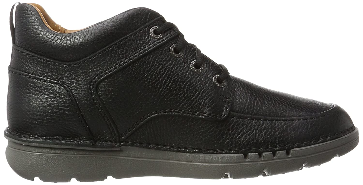 Clarks Herren Unnature Mid (Black Klassische Stiefel Schwarz (Black Mid Leather) a8f074