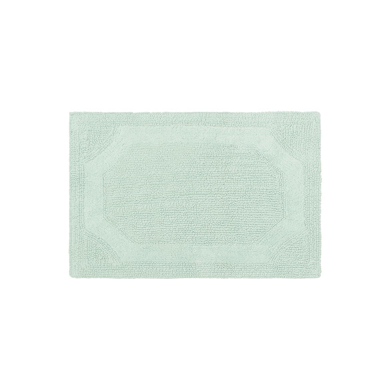 Yellow Laura Ashley Reversible Cotton 2-Piece Bath Mat Set