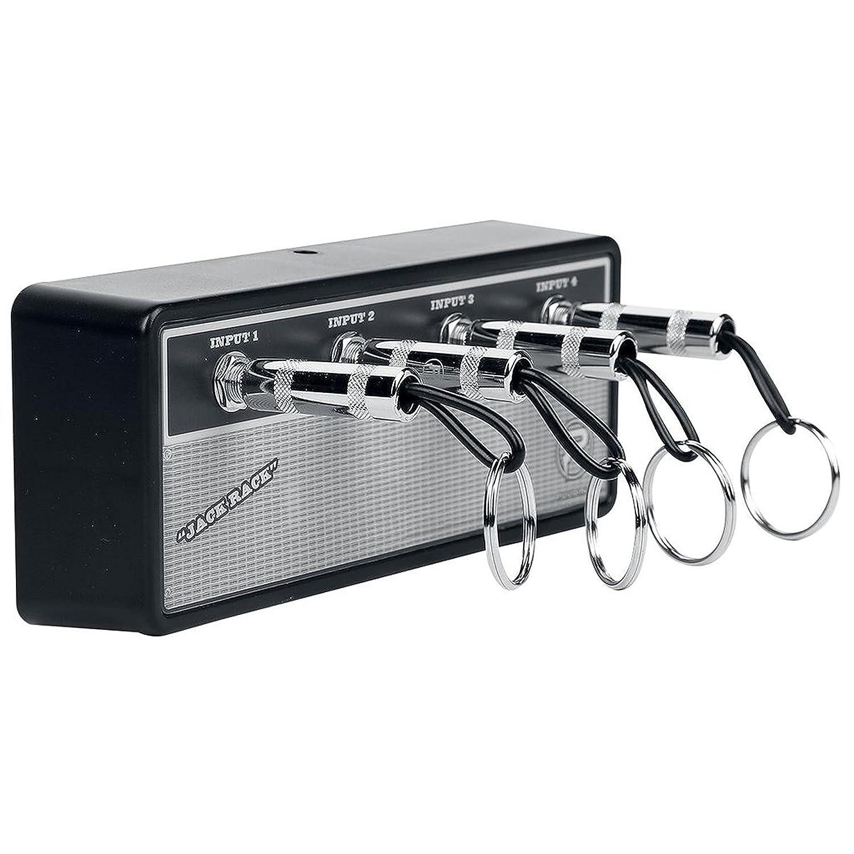 Pluginz Jack Rack Marshall Colgador de llaves con diseño de amplificador de guitarra, vintage