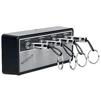 Pluginz Jack Rack Marshall Colgador de llaves con diseño de amplificador de guitarra, vintage: Amazon.es: Instrumentos musicales