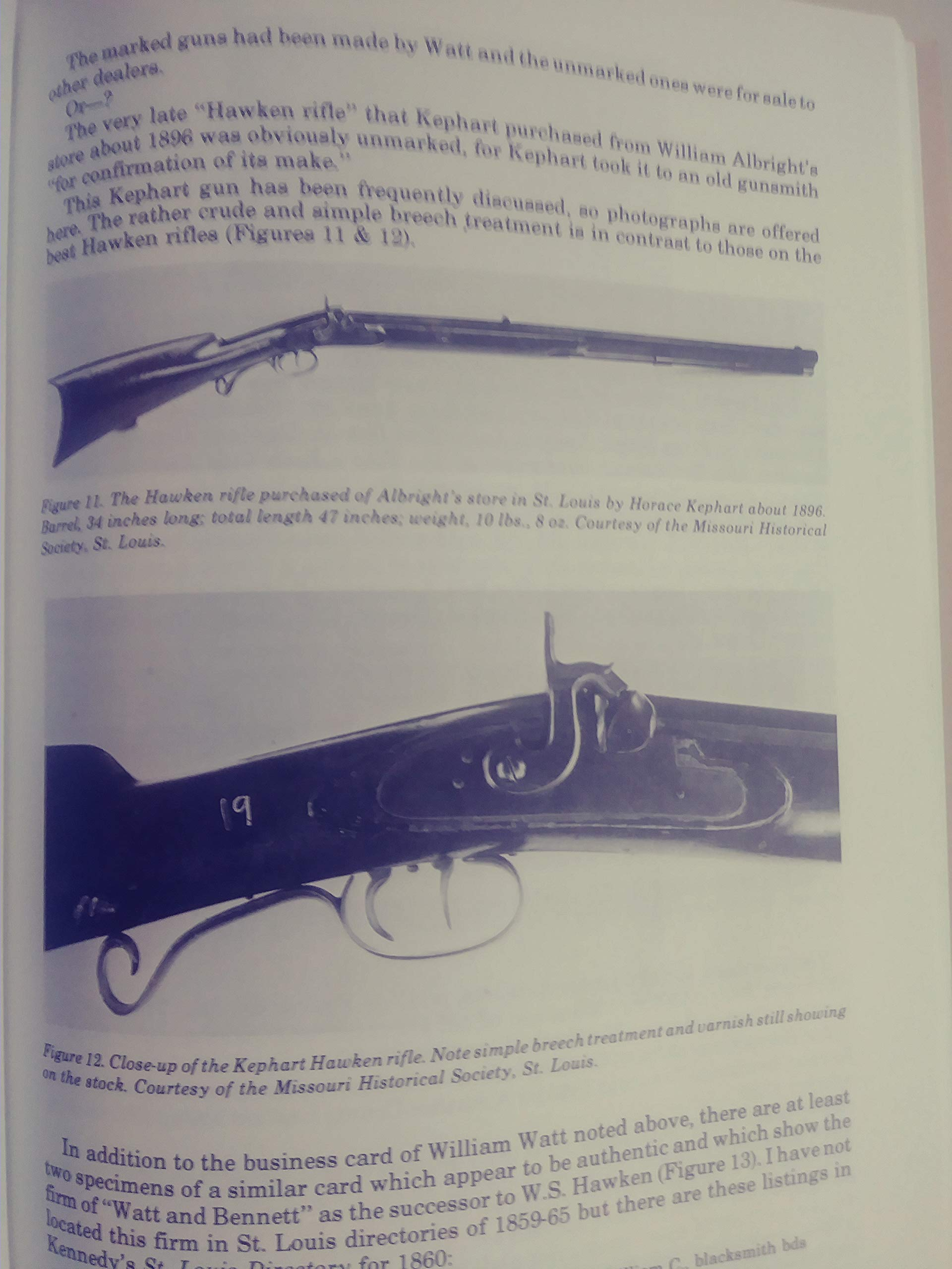 The Hawken Rifle Its Place in History: Charles E  Hanson