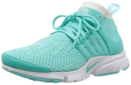 finest selection d824c 5c776 Nike Womens Air Presto Flyknit Ultra High Top Sneakers Blue ...