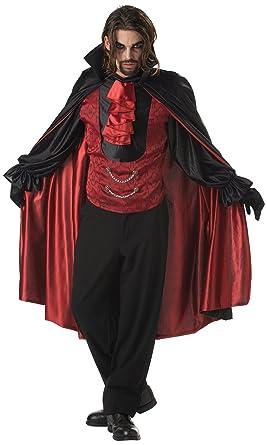 California Costumes Menu0027s Count Blood Thirst Costume Black/RedLarge  sc 1 st  Amazon.com & Amazon.com: California Costumes Menu0027s Count Blood Thirst Costume ...