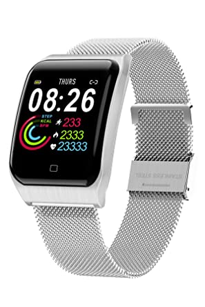Amazon.com: Smart Watch Touch Screen Smartwatch IP67 ...