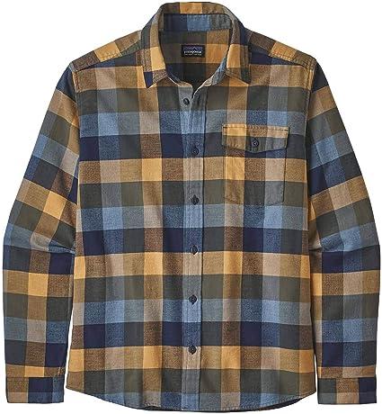 Patagonia Ms L/S LW Fjord Flannel Camisa, Hombre: Amazon.es: Ropa y accesorios