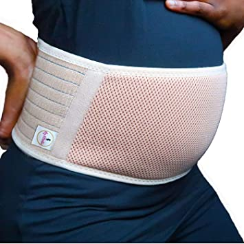 5cdd8280fb028 Maternity Belt by My Othentic - Adjustable Breathable belly band - Women  Comfortable Maternity Belt for