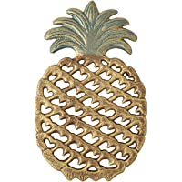 Cast Iron Pineapple Trivet - Decorative Cast Iron Trivet For Kitchen Or Dining Table - Vintage, Rustic Design - Protect…
